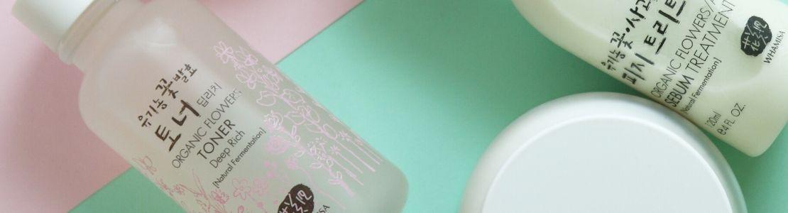 Whamisan ja Urangin tuotteet edustavat korealaista ihonhoitoa.