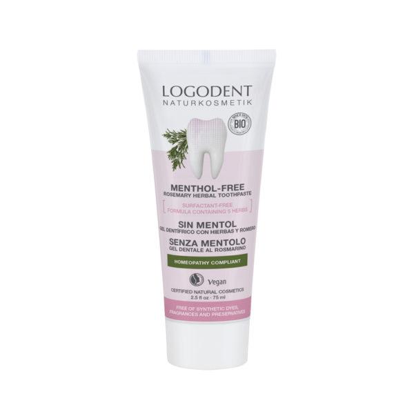LOGONA Menthol-free Rosemary Herbal - hammastahna 75ml