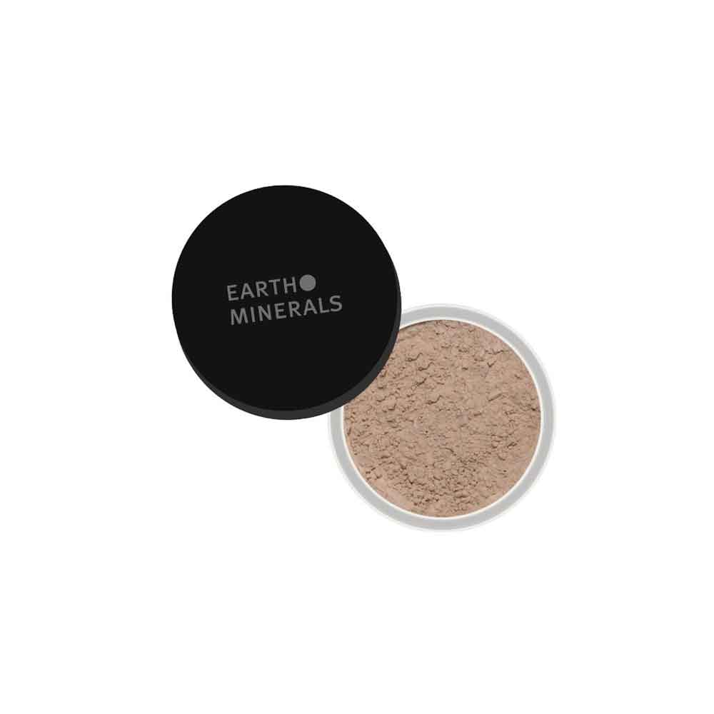 EARTH MINERALS Satin Matte Foundation Light 3 6g
