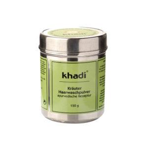 KHADI Herbal Hairwash Jauhe - allergiselle iholle, paksuille tai kiharoille hiuksille 150gr