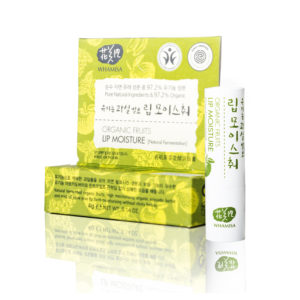 WHAMISA Organic Fruits Lip Moisture - ravitseva huulivoide 3,5g