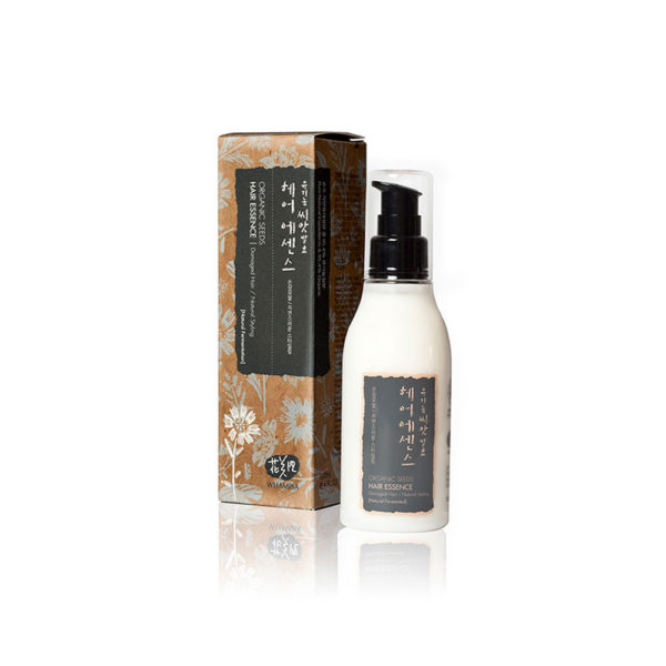 WHAMISA Organic Seeds Hair Essence - hiuseliksiiri kaikille hiustyypeille 150ml