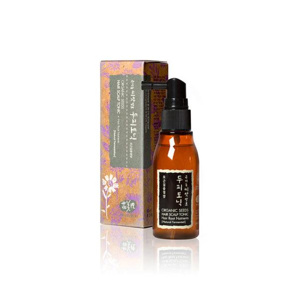 WHAMISA Organic Seeds Hair and Scalp Tonic - hiusvesi 60ml