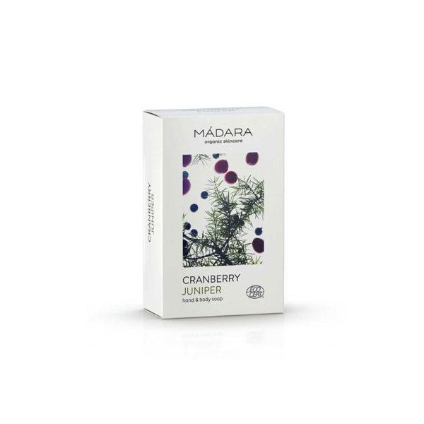 Mádara Cranberry & Juniper body soap 15gr