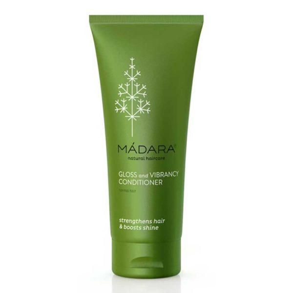 MÀDARA Colour & Shine hoitoaine – värjätyille ja käsitellyille hiuksille 200ml