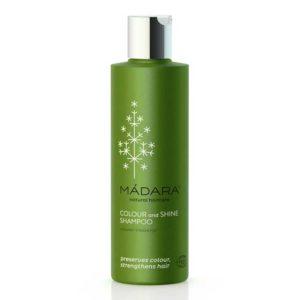MÀDARA Colour & Shine shampoo – värjätyille ja käsitellyille hiuksille 200ml