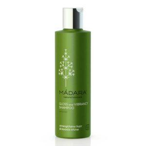 MÀDARA Gloss & Vibrance shampoo - normaaleille hiuksille 200ml