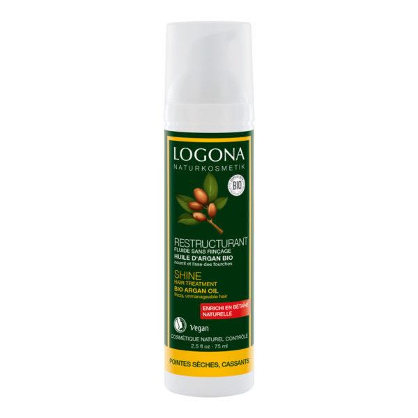 LOGONA ORGANIC ARGAN OIL HAIR TIP FLUID - HAURAILLE HIUKSILLE 75ml