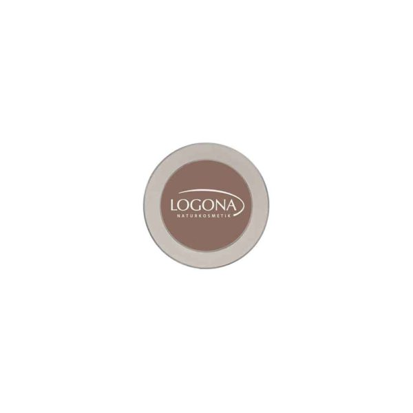 LOGONA EYESHADOW MONO NO. 02, CHOCOLATE 2g