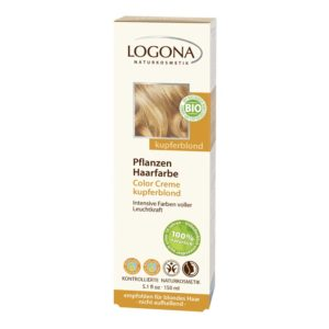 LOGONA COLOR CREAM KASVIHIUSVÄRI COPPER BLONDE150ml