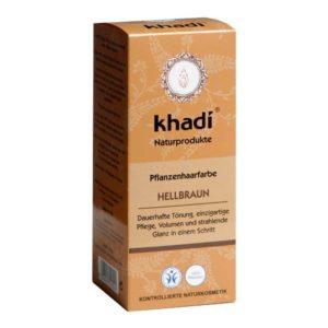 KHADI JAUHEMAINEN KASVIHIUSVÄRI LIGHT BROWN 100gr