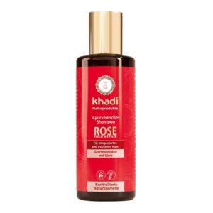 KHADI ROSE SHAMPOO - NORMAALEILLE HIUKSILLE 200ml