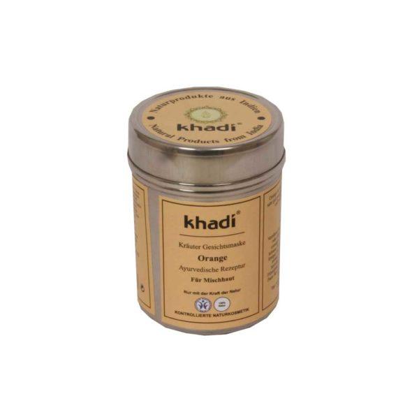 KHADI ORANGE FACE MASK - SEKAIHOLLE 50gr