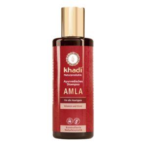 KHADI AMLA SHAMPOO - OHUILLE JA VELTOILLE HIUKSILLE 200ml