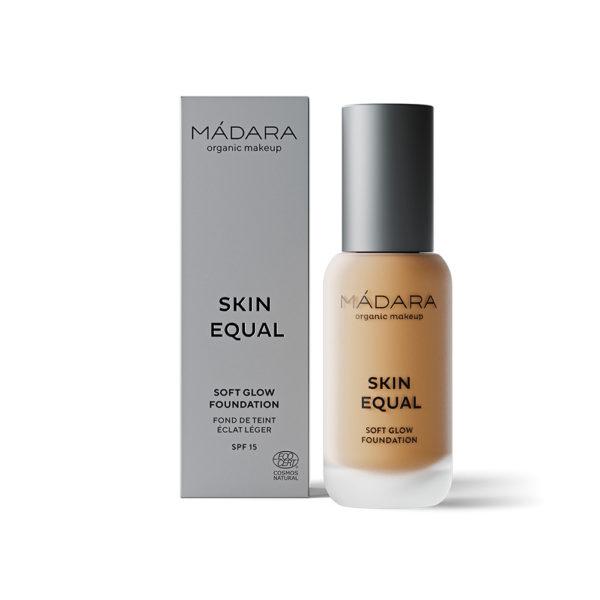 MÁDARA Skin Equal Soft Glow Foundation -Kuulas Meikkivoide Golden Sand 50