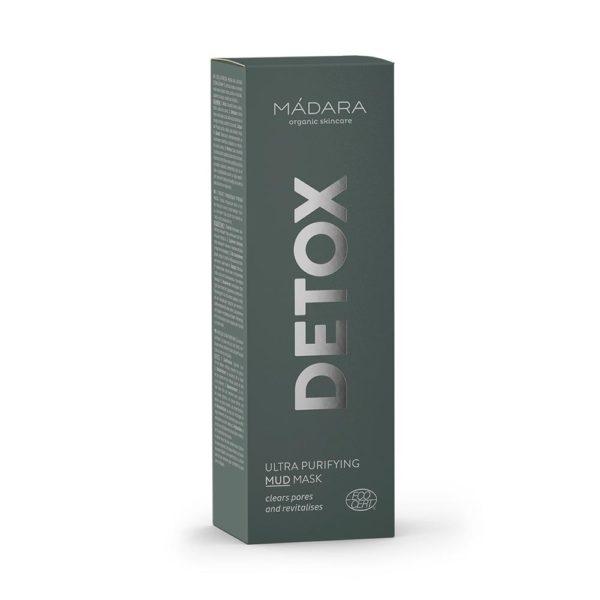 MÀDARA Ultra Purifying Detox Mask - syväpuhdistava mutanaamio kaikille ihotyypeille 60ml