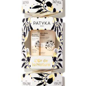 Patyka Nutri -Lahjapakkaus: Main dans la Main -Käsivoide + Bouche à Bouche -Huulivoide