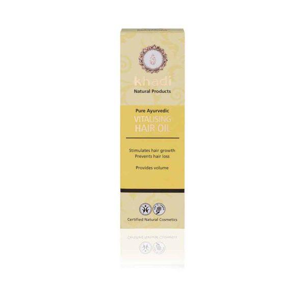 KHADI Vitalizing Hair Oil box
