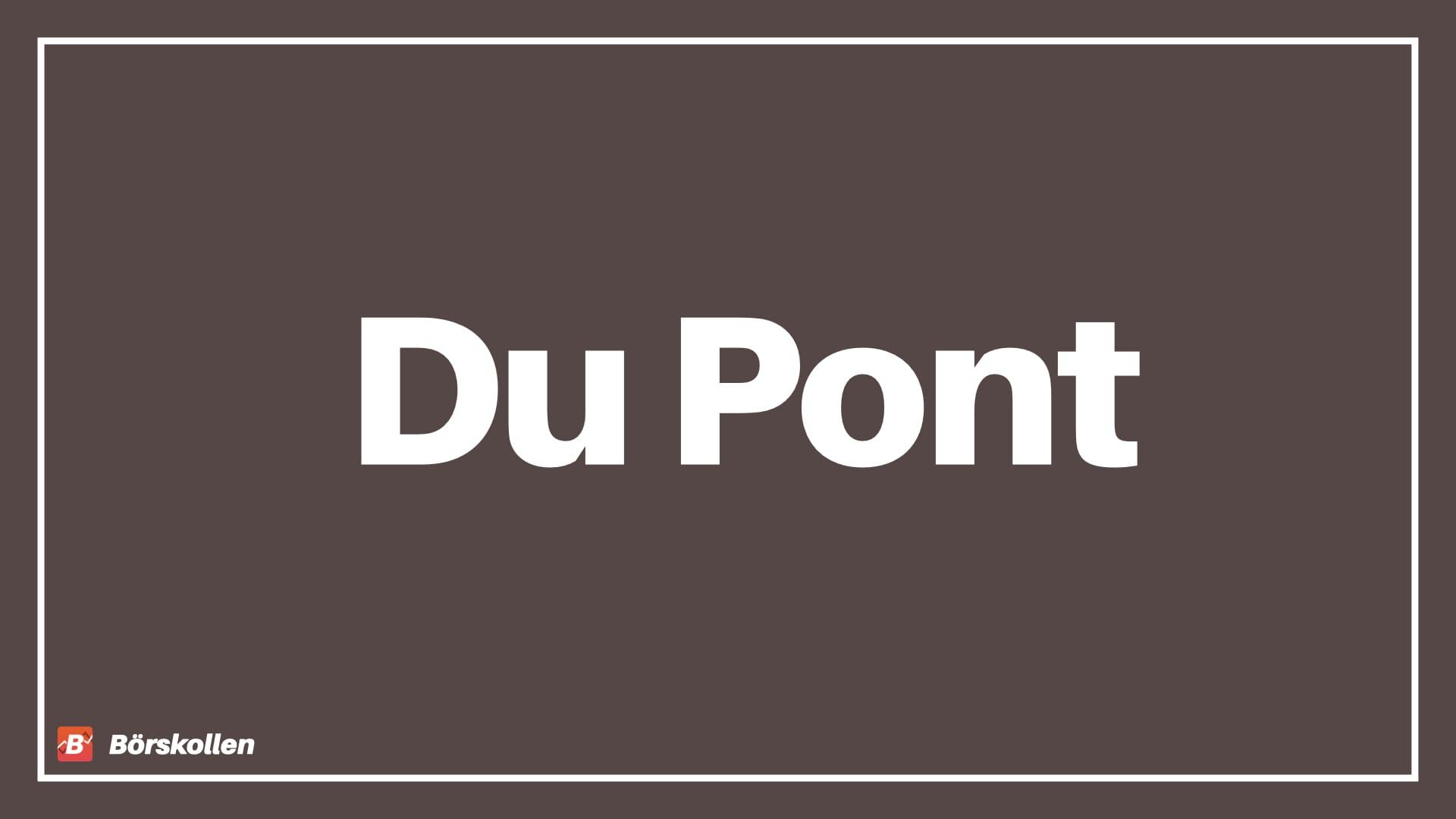 Förklaring av Du Pont - Vad är Du Pont modellen?