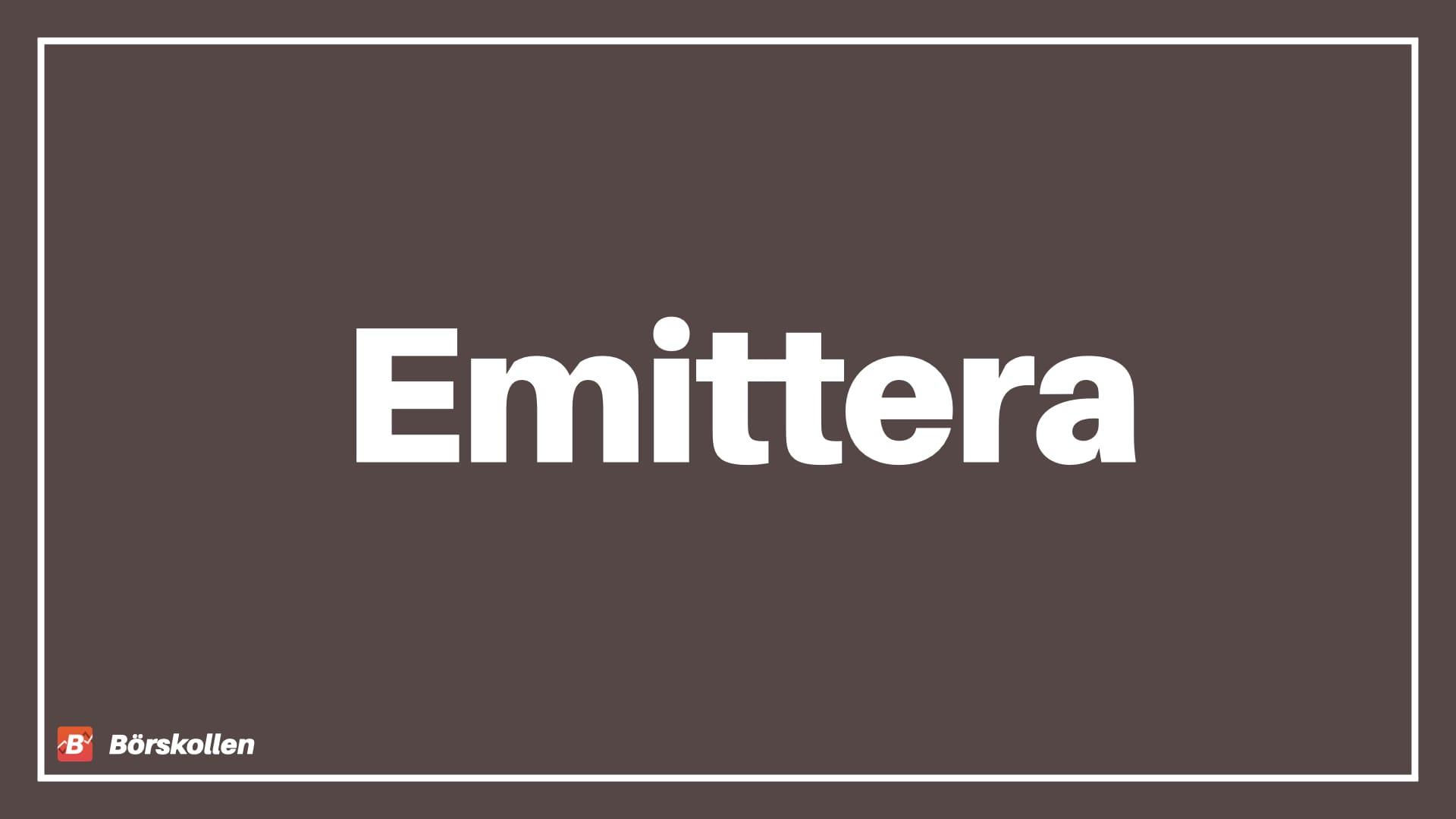 Emittera - när ett företag släpper nya aktier
