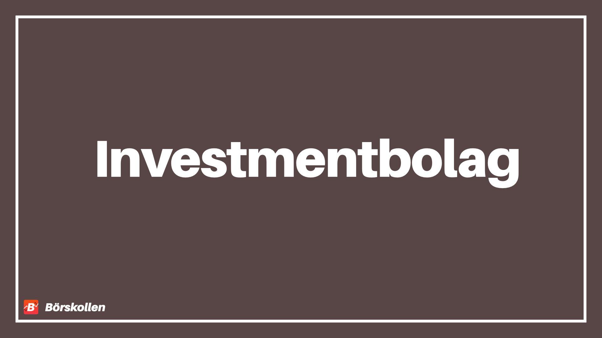 Investera i investmentbolag – 5 bolag som du bör hålla koll på!