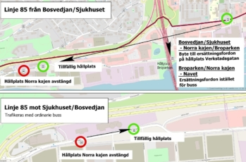Karta Sundsvall Centralstation.Din Tur