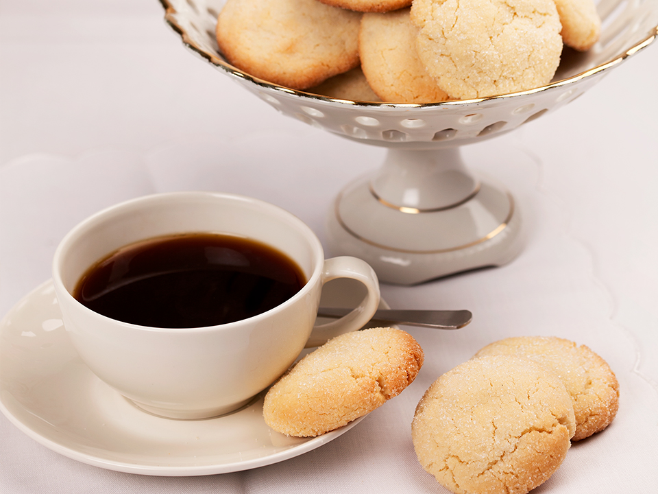 mureat kahvikeksit kahvin kera