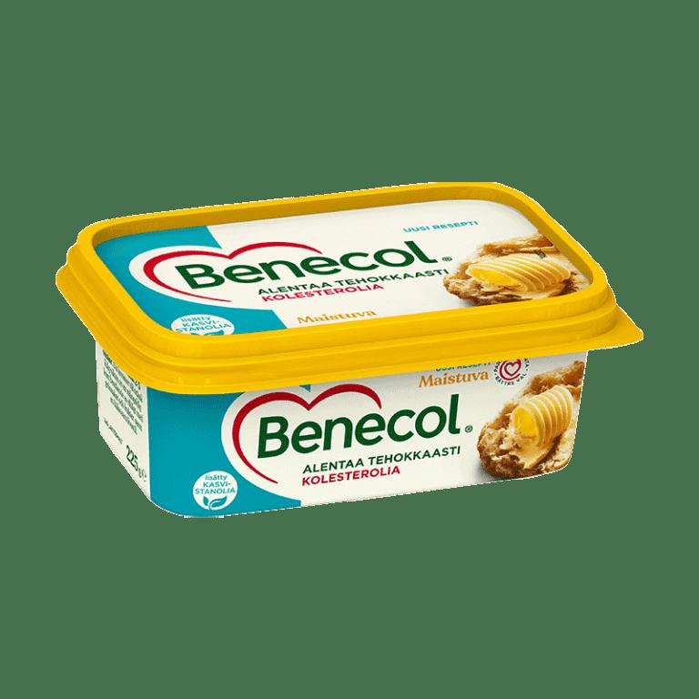 Kolesterolia alentava levite - Benecol Maistuva