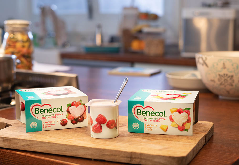 Benecol UK jogurts