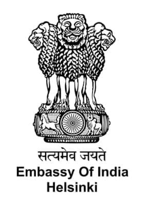 Embassy of India Helsinki logo