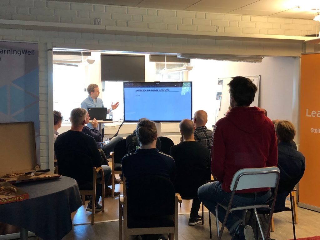 Funktionell programmering i Haskell med Erik Bäckman