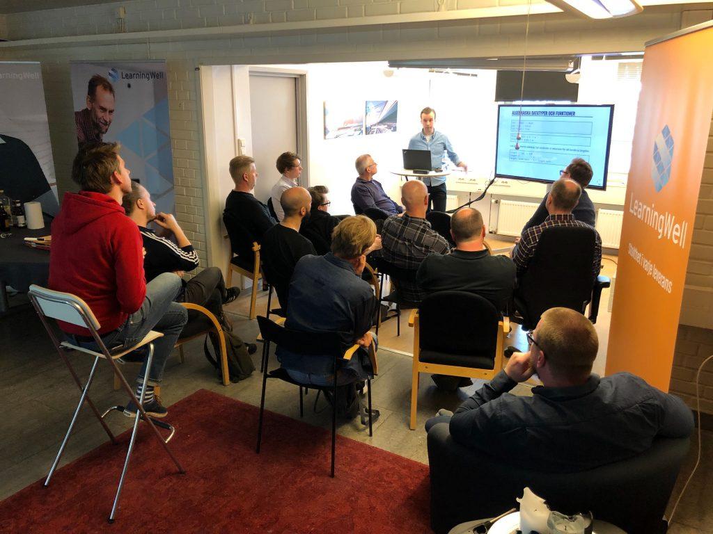Meetup kring Haskell på LearningWell i Karlstad