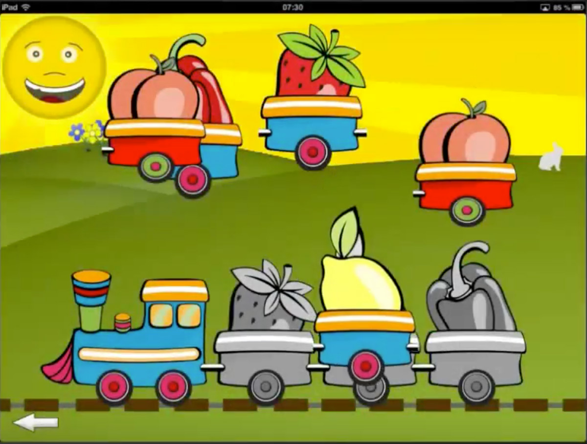 En bild från appen Babybox