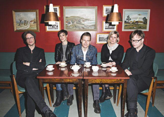 Dalaplan rockar hårdast i Sverige i år. Från vänster: NIklas Svensson, Jenny Neikell, Johan Åkesson, Sofie Karlberg och Peter Svensson.