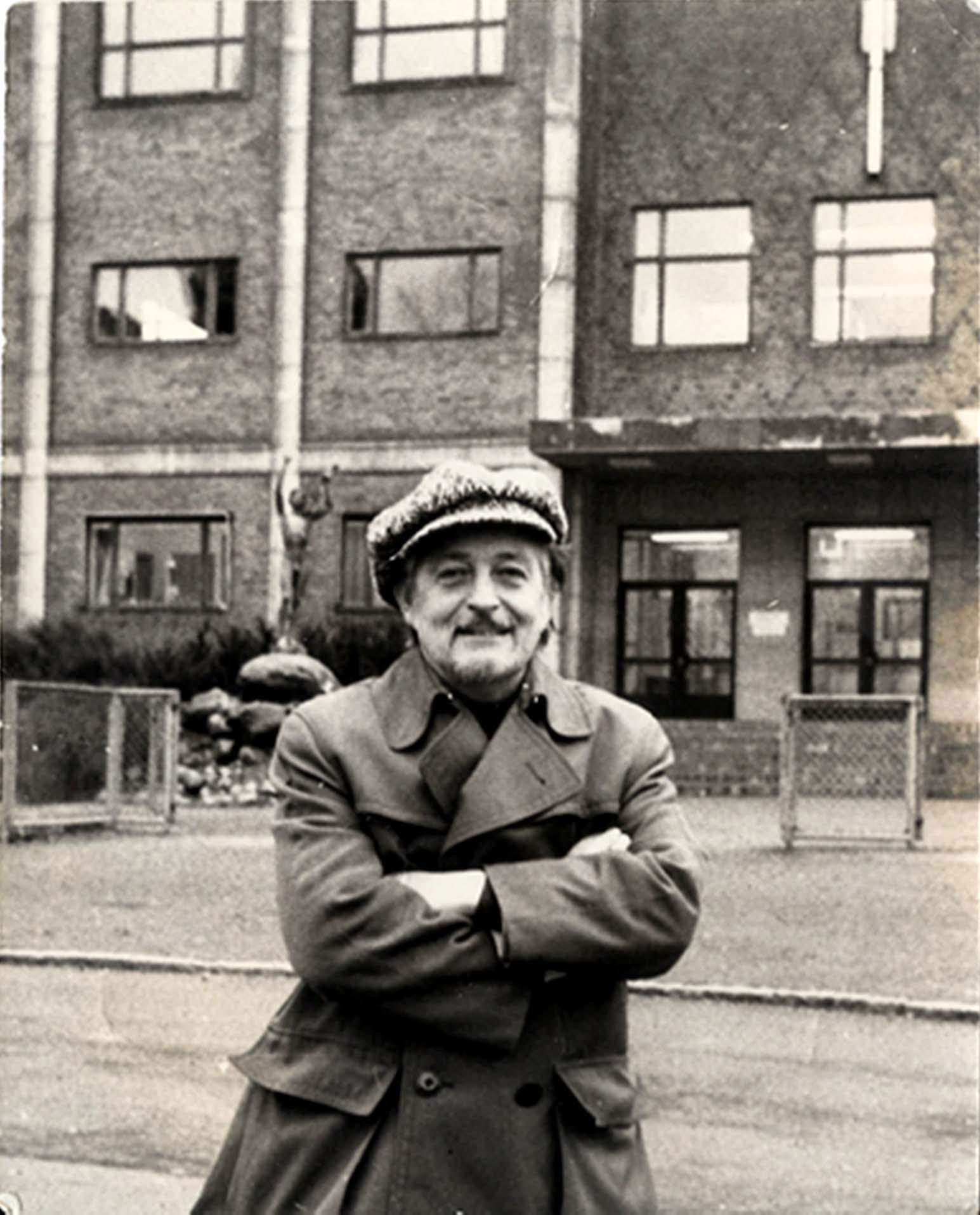 Curt Peterson vid Bäckäng