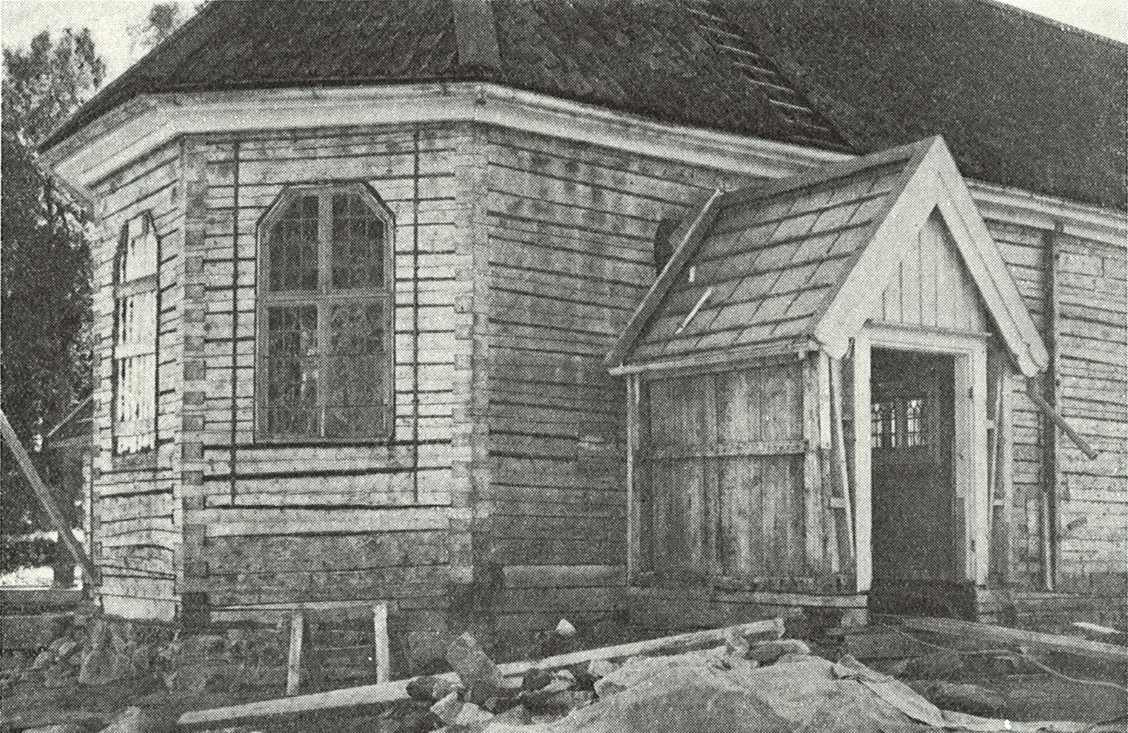 Renoveringen av Brämhults kyrka på 1950-talet
