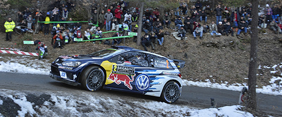 Jari-Matti Latvala (FIN), Miikka Anttila (FIN) Volkswagen Polo R WRC (2016) WRC Rallye Monte Carlo 2016