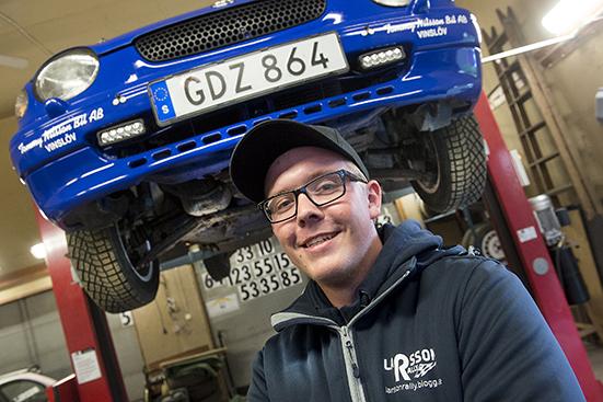 Hampus Larsson, Kristianstads Mk bor i Vinslöv