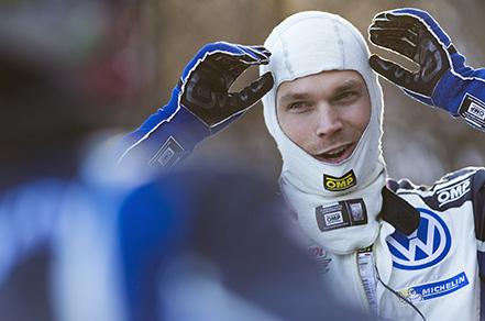Andreas Mikkelsen (NOR) WRC Rallye Monte Carlo 2016