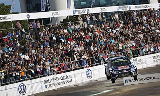 Sébastien Ogier (F) Volkswagen Polo R WRC (2016) Showrun Street Rally Argentina 2016