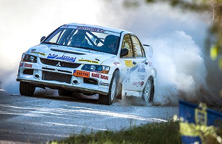 Emil Bergkvist, Hofors i South Swedish Rally