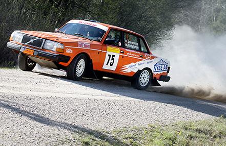 Hans Johansson-Mattias Bengtsson i South Swedish Rally