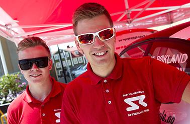 Steve Røkland och Tom Woodburn leder klassen i South Swedish Rally