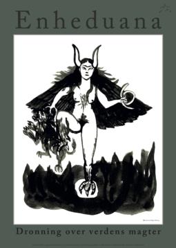Plakat B - dronning over verdens magter