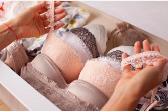 Bras stored in drawer bra care hack number 6