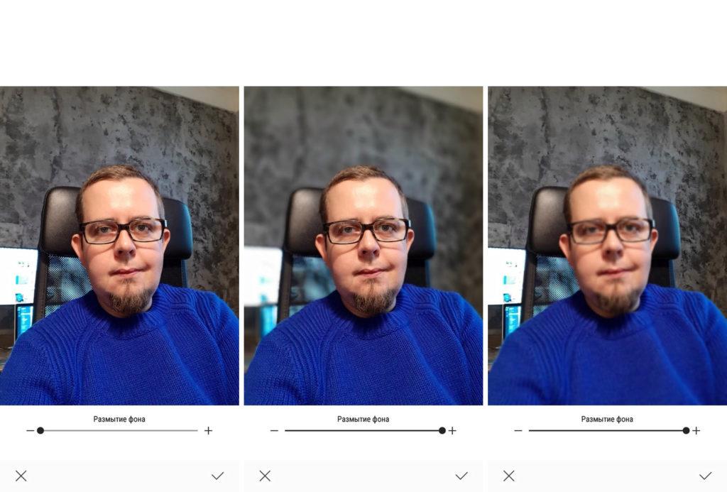 Samsung Galaxy A8 (2018) - передняя камера