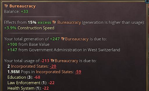 Bureauracy balance
