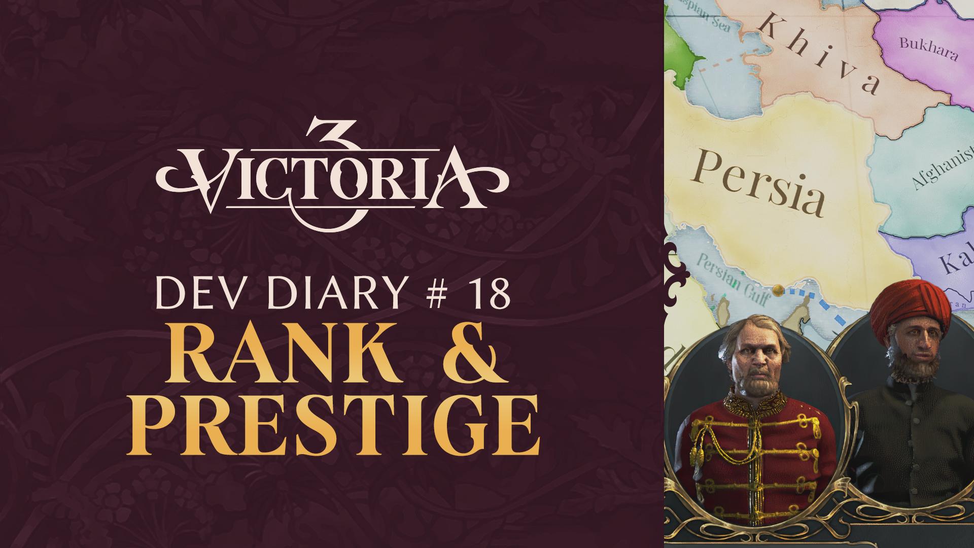 Dev Diary 18: Rank and Prestige