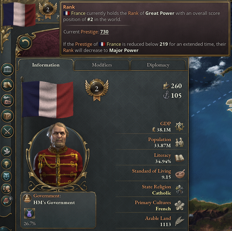 France - Great Power