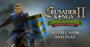 Crusader Kings II Is FREE TO KEEP!